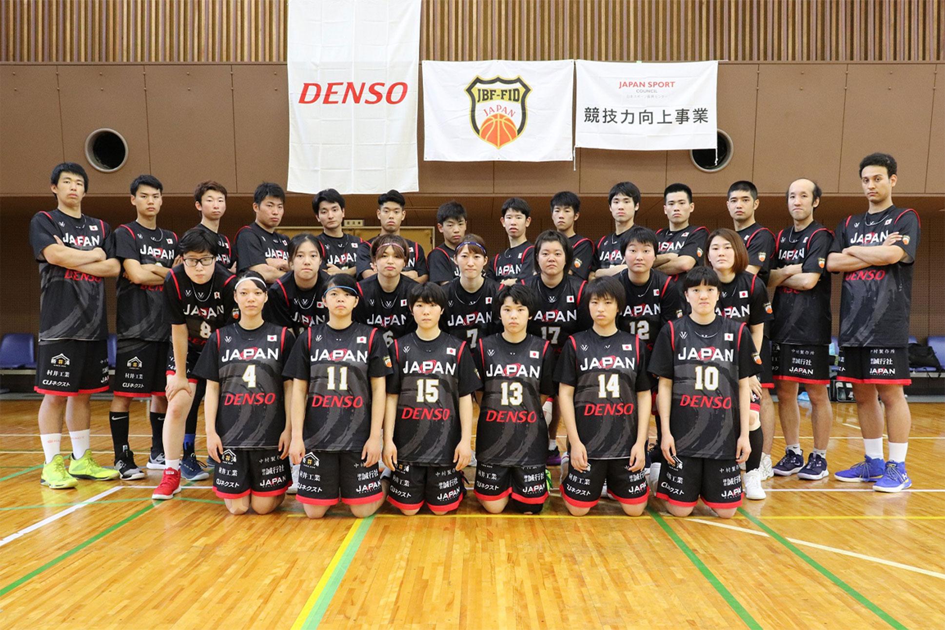 日本A代表 選手 ※2019年7月撮影